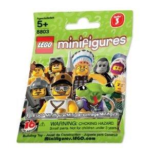 LEGO Minifigure Collection Series 3 Mystery Bag Pack 1 Random Mini Figure! (Random Pack 1)