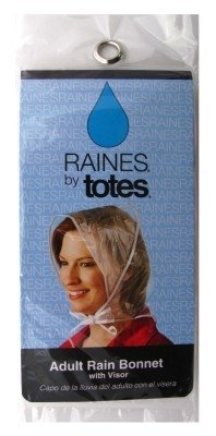 - Raines Rain Bonnet With Visor Adult, Colors May Vary