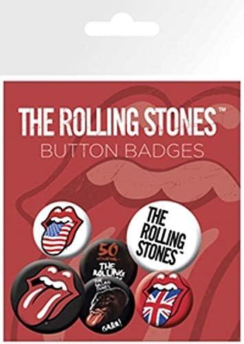 Nosoloposters GB Eye LTD, The Rolling Stones, Lips, Pack de Chapas