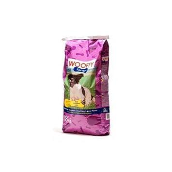 Pienso para perro Wooffy Energy saco de 18 kg. Pienso para tu perro sometido a régimen de intenso ejercicio físico o nivel elevado de estrés: Amazon.es: ...
