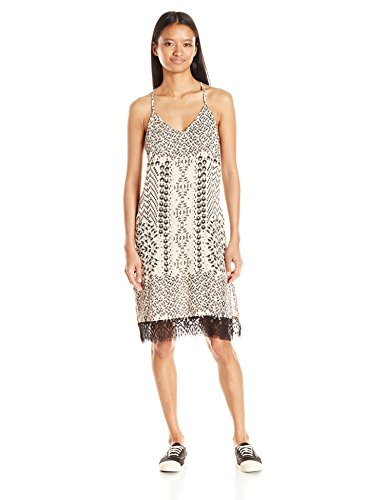 Angie-Womens-Spaghetti-Strap-Dress-with-Lace-Hem