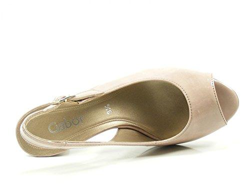 Gabor 81-834 Womens Court Shoes Rosa MTRnrIGb9