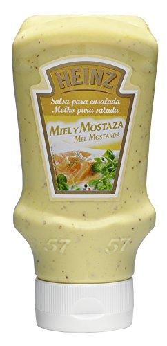 Heinz Saladesaus met honing en mosterd, 400 ml