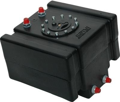 RCI 5 GALLON DRAG RACING FUEL CELL W/ SAFETY FOAM & 2