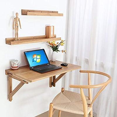 XYL Mesa Plegable de Pared, Escritorio para computadora, Estante ...