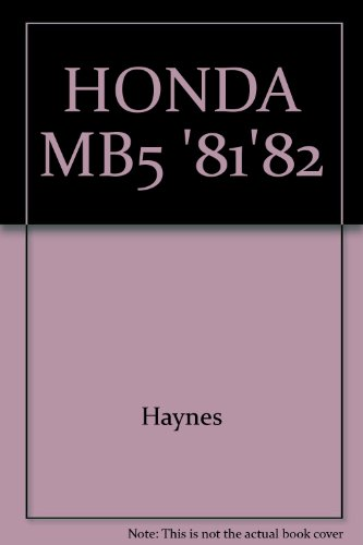 Photo HONDA MB5 `81`82