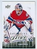Carey Price hockey card (Montreal Canadiens All Star Goaltender) 2010 Upper Deck #299