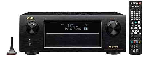 Denon AVRX6200W 9.2 Channel Full 4K Ultra HD AV Receiver with Bluetooth and Wi-Fi by Denon