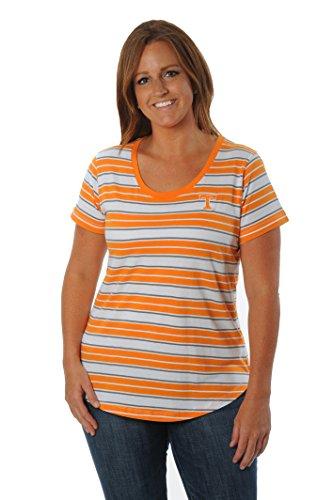 Tennessee Vols Tailgate - NCAA Tennessee Volunteers Women's Tailgate Tee, X-Large, Orange/Grey