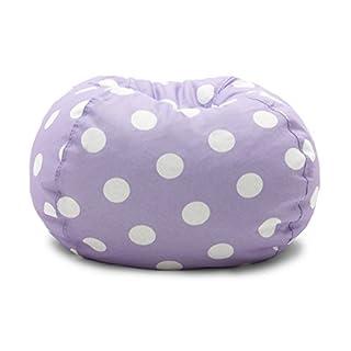 Big Joe 0630252 Lavender Polka Dot Classic Bean Bag Chair, Lavendar with White (B005A2IJ2Y) | Amazon Products