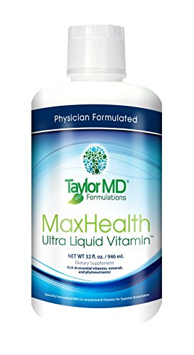 MaxHealth Ultra Liquid Vitamin 32 oz. Physician Formulated and Clinically Tested Review