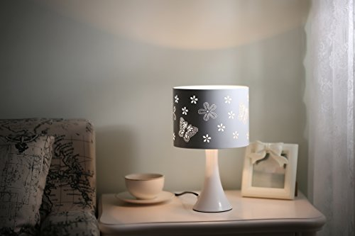 (white) (Butterflies Touch Lamp)