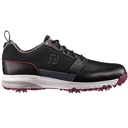 Men's Footjoy ContourFit Golf Shoes Wide Black Size 11 Wi...