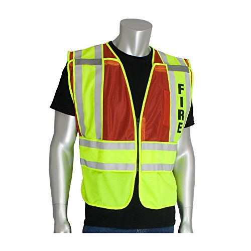 (This Product is ANSI 207 Public Safety Vests - Red