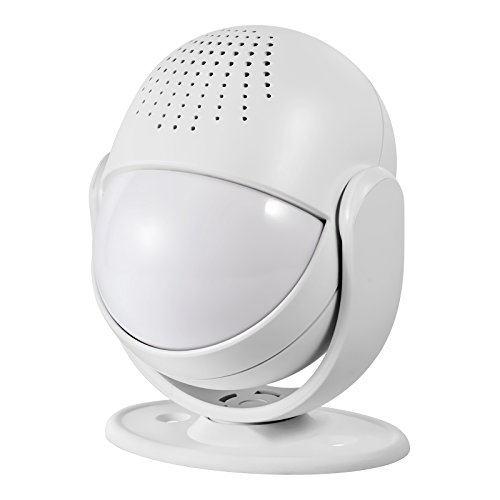 Fuers M6 Wireless Motion Alarm and Alert System with Customize Voice/Songs Function,Welcome Guest Entry Chime, Connectable Speaker for Shop, Hotel, Home