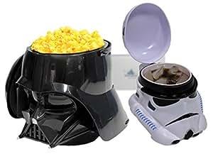 2014 Star Wars Weekend Darth Vader Popcorn Bucket and Stormtrooper Mug mint New Rare