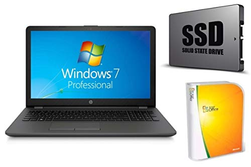 Notebook 255 G6 – 8GB RAM – 256GB SSD – Windows 7 PRO + Office – 39cm (15.6″) Display MATT