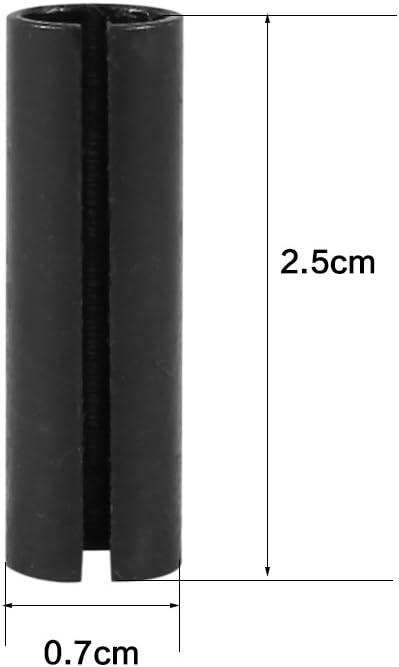 Adattatore per incisione,Akozon 1pc 8mm a 6.35mm 1//4  Strumento adattatore per router per punte da incisione in acciaio per pinza di serraggio
