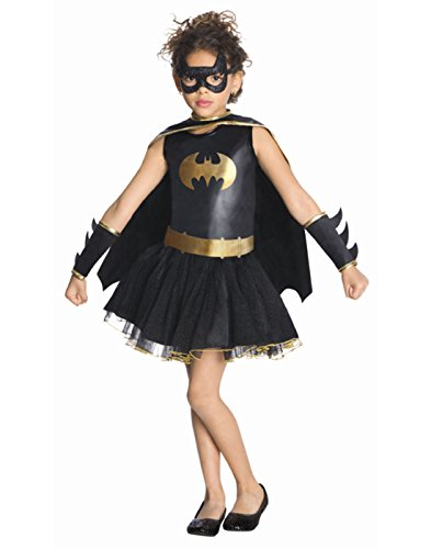 Rubies Batgirl Tutu Costume (Rubies Costume Co Girls' Batman Batgirl Tutu Costume Multicoloured 2T to 4T)