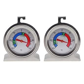 Termómetro y termómetro para nevera y congelador, fabricado en ...