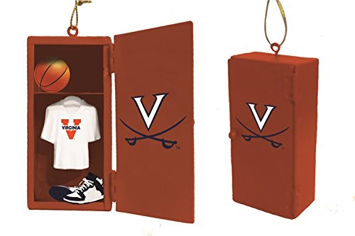 Virginia Cavaliers Team Helmet (Team Sports America Virginia Cavaliers Team Locker Ornament)