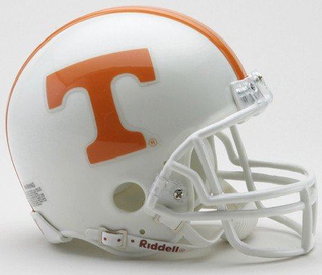 (Tennessee Volunteers NCAA Mini Football Helmet - NCAA Licensed - Tennessee Volunteers Collectibles)