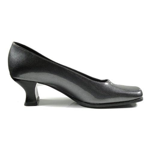 Ornela Brenti 30668-531 Damen Schuhe Premium Qualität Pumps Grau (Grau)