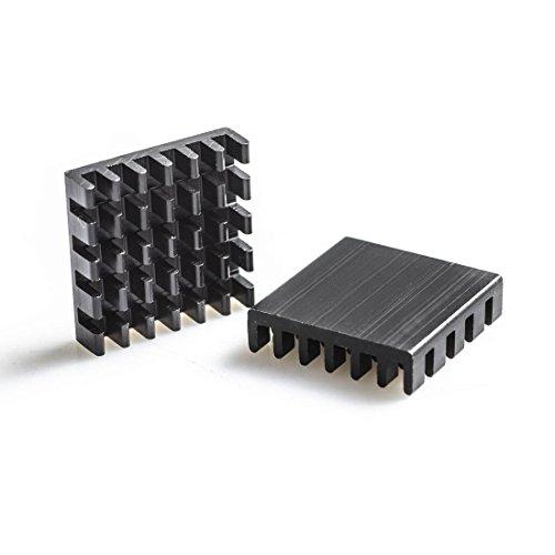 AKK 10pcs Black Aluminum Heatsink Kit for AKK X2-Ultimate/ FX2-ultimate/ X2/ X2P/ X2M/ FX2