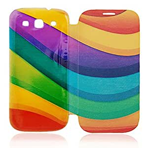 TOPMM Graceful Curve Leather Case for Samsung Galaxy S3 I9300