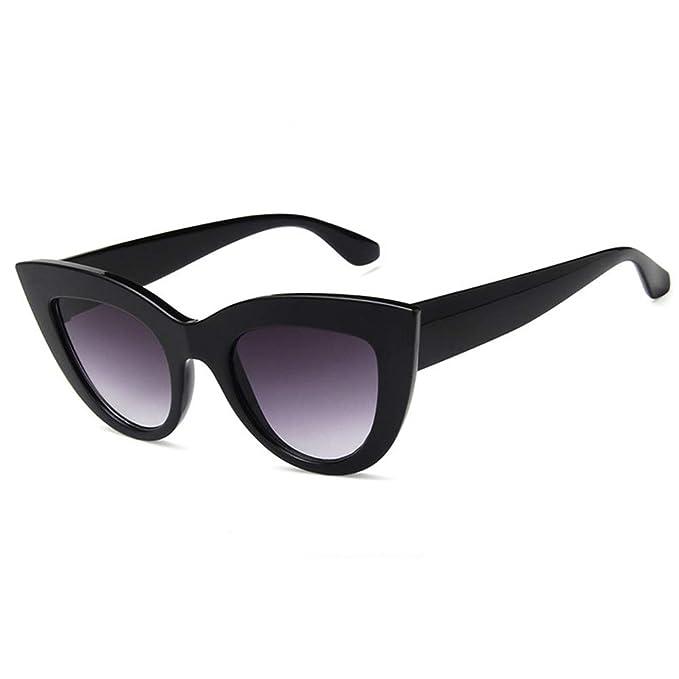 Amazon.com: Gafas de sol para mujer, estilo retro, diseño de ...