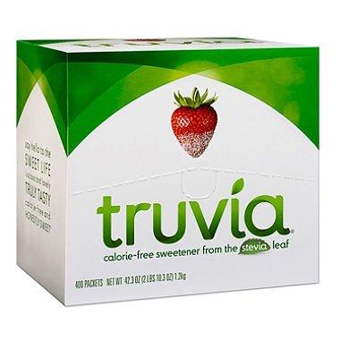 Truvia Natural NphGQ Sweetener, 400 Count (2 Pack) by Truvia