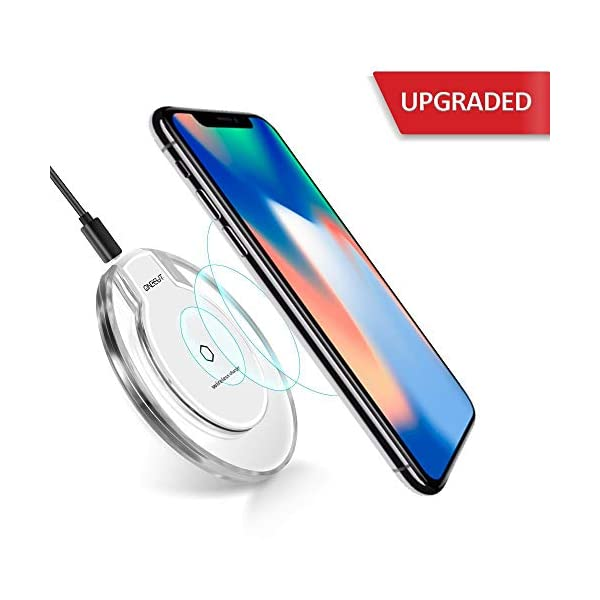 OneCut Upgrade Wireless Charger, Charge Stand for iPhone 11