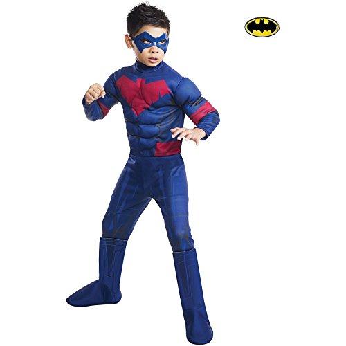 Nightwing Costume For Kids (Deluxe Nightwing Costume - Medium)