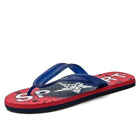 BAOZIV587 Zapatillas para el aire libre, para hombre, de verano ...