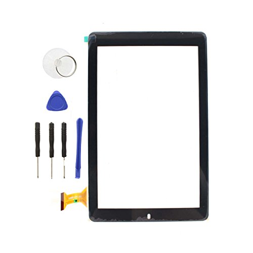 AUTOKAY New Digitizer Touch Screen Panel for RCA 10 Viking Pro RCT6303W87M Tablet Black