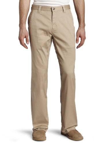 Mountain Khakis Men's Lake Lodge Twill Pant Relaxed Fit, Light Khaki, 35x32