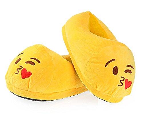 DS Styles , Herren Hausschuhe Gelb gelb