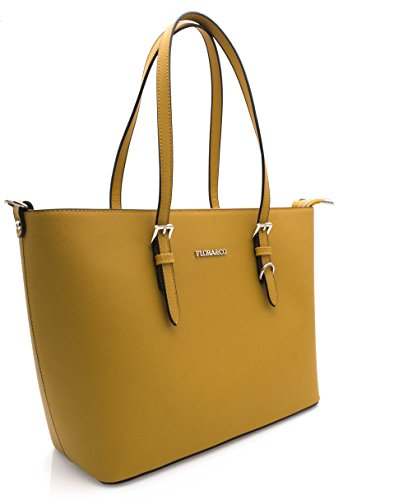 Bag Shoulder Yellow Women amp;co Mustard girls Flora wtIpqg7