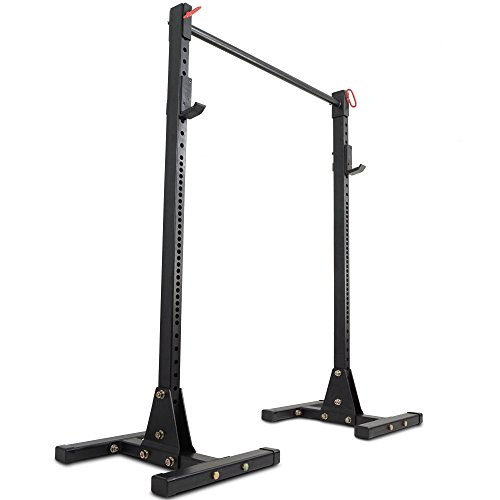 Titan Squat Stand HD 1,000 lb Capacity Deadlift Lift Weight Rack 2x3 Pull Up by Titan Fitness