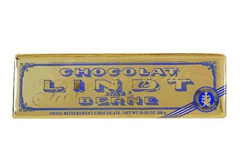 Lindt Surfin Bittersweet Gold Chocolate Bar, 10.58-Ounce Bars (Pack of 10) - Lindt Bittersweet Chocolate