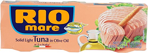Rio Mare Solid Light Tuna in Olive Oil Can, 240 Gram by Rio Mare