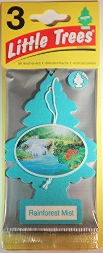 Air Freshener Rainforest (Air Freshener Rainforest Mist Little Trees 3-Pack)