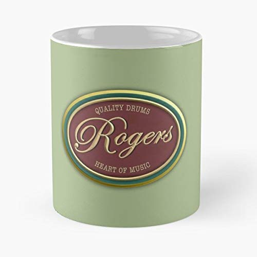 (Rogers Drums Drum Percussion - Best Gift Ceramic Coffee Mugs )