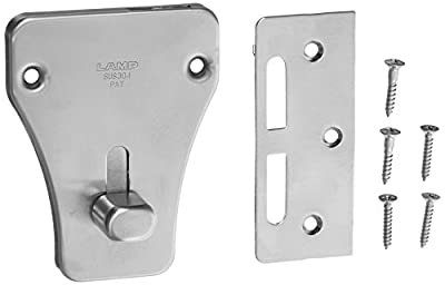 Sugatsune, Lamp HC-70 Catches and Latches, 304 Stainless Steel, Brass, Satin