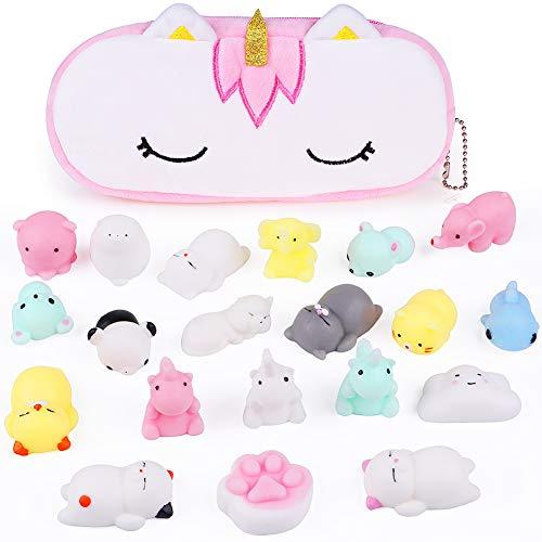 VAMEI 20 PCs Mochi Squishy Kawaii Toys and
