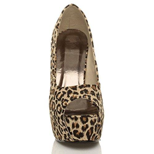 L Pointure Plateforme Haut Sandales Talon Bout Femmes Classique Ouvert Chaussures zTH6TcOy