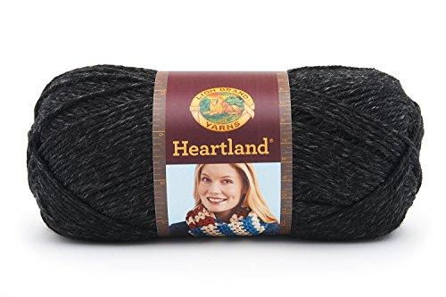 153 Yarn (Lion Brand Yarn 136-153 Heartland Yarn, Black Canyon)