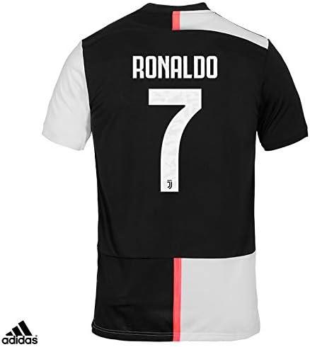 Juventus Camiseta Ronaldo CR7 Gara Home Oficial Temporada 2019/2020-100% Producto Oficial - 100% Original - niño - Parche Escudo Siempre Incluido - Elige la Talla, Taglia 152 cm 11/12 Anni: Amazon.es: Deportes y aire libre