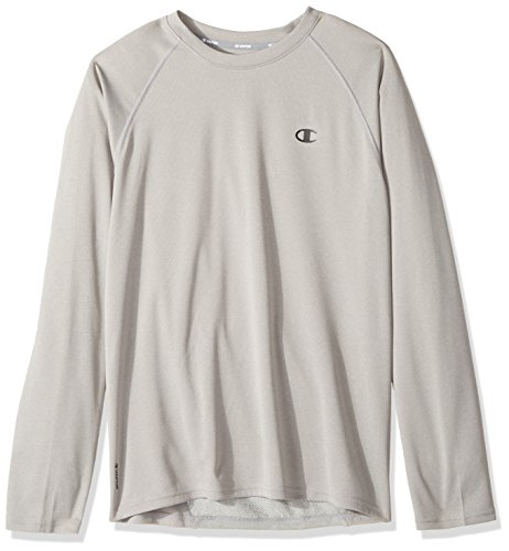 e Dry Select Long Sleeve T-Shirt, Oxford Gray, X-Large ()