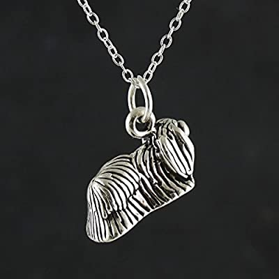 Sterling-Silver-3-D-Pekingese-Dog-Pendant-Necklace-18